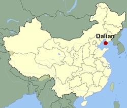 Dalian-map