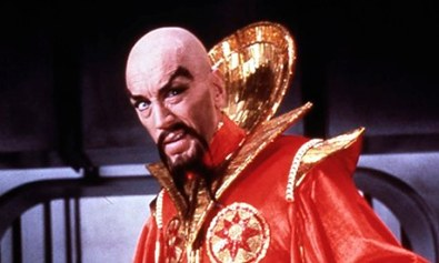 Ming the Merciless from Flash Gordon